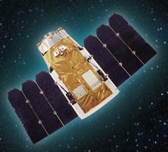 איור של הלוויין אופטסאט 2000