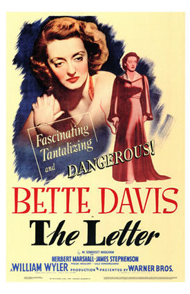 the last letter movie המכתב סרט 1940 ויקיפדיה 11795 | The Letter poster