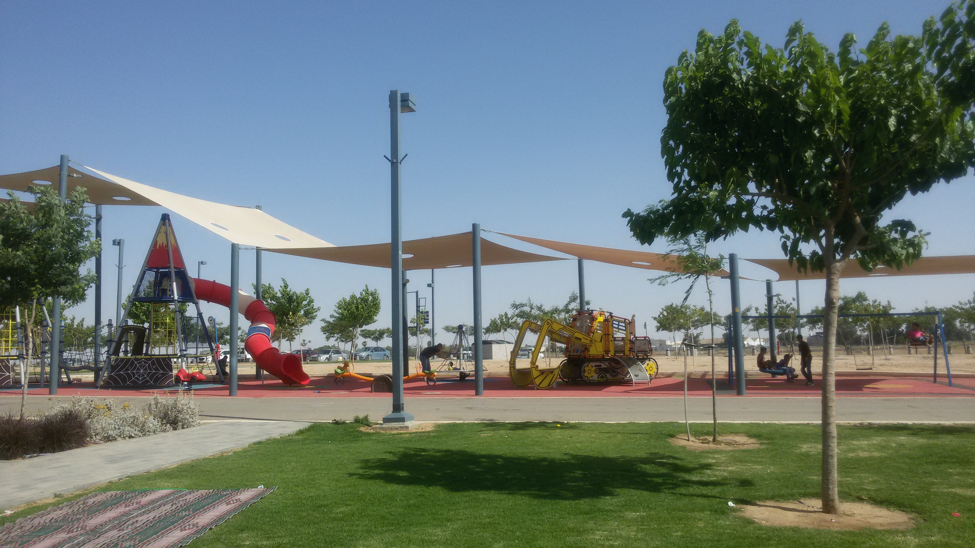 פארק נחל באר שבע. צילום: ויקיפדיה
