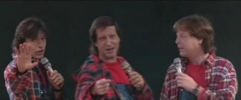 """ההרכב השני של """"הופה היי"""" בפסטיגל 1995"""