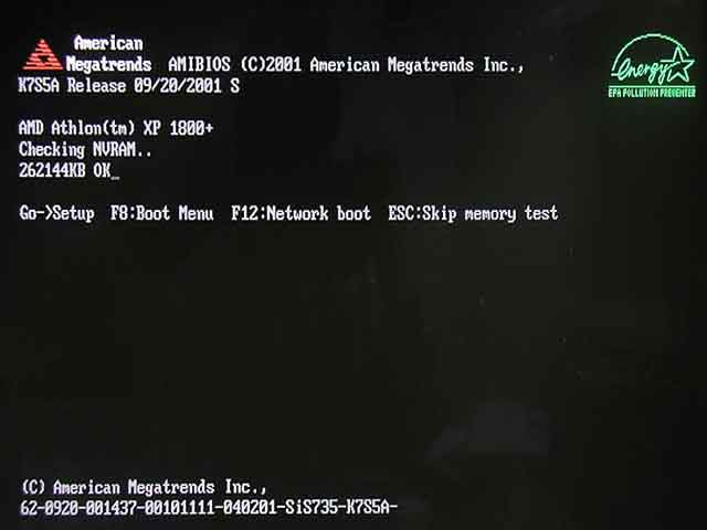 how to get to bios from media disk startup