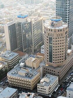 בנייני ההנהלה של בנק לאומי בתל אביב