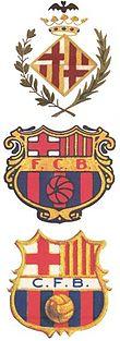 התפתחות סמל המועדון לאורך השנים