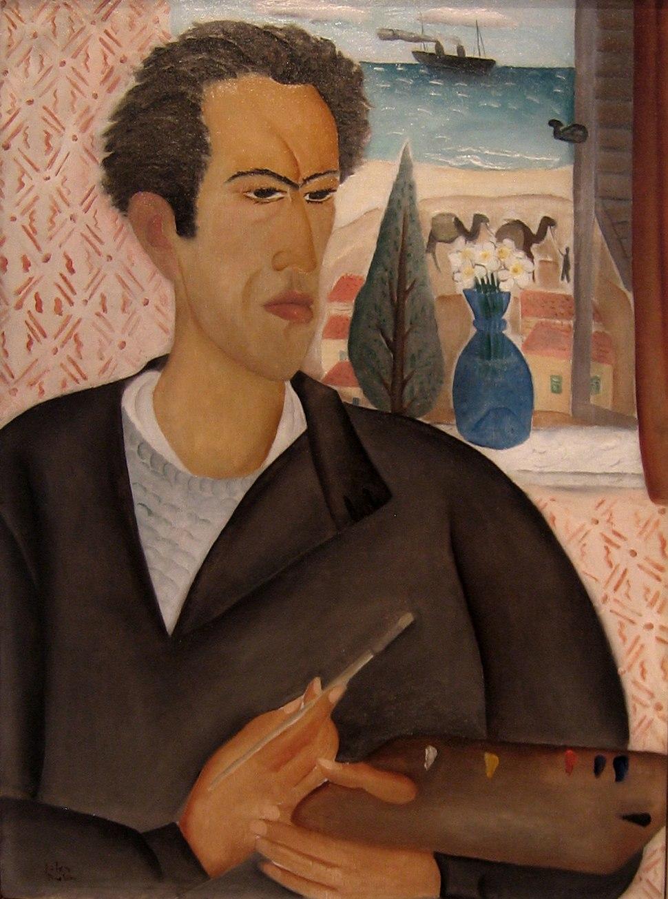 דיוקן עצמי (1924) ראובן רובין, מוזיאון ישראל