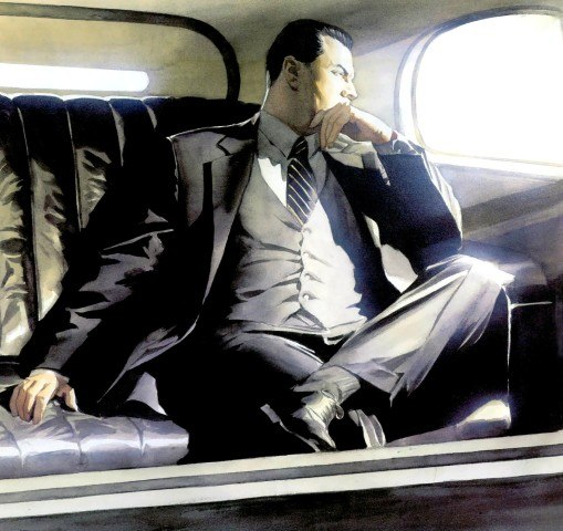 Bruce Wayne by Alex Ross