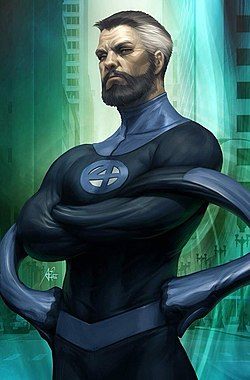 Fantastic Four Vol 6 1 Mr. Fantastic Variant Textless.jpg