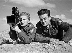 Ze'ev Rav-Nof and Chaim Schreiber, Gadna Film Unit.jpg
