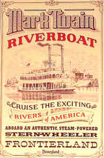 Disneyland Mark Twain Riverboat Poster.png