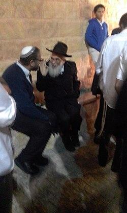 הרב עמיאל שטרנברג יחד עם הרב יורם מושקוביץ.jpg