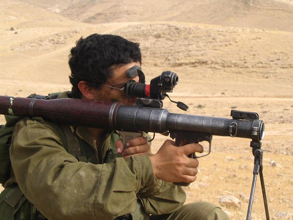 RPG7 in use