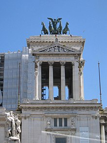 Monument to Vittorio Emanuele II in Rome detail1.jpg