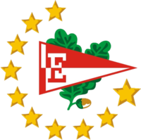 Estudiantes de La Plata Logo with Ten Stars.png