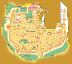 מפת העיר העתיקה