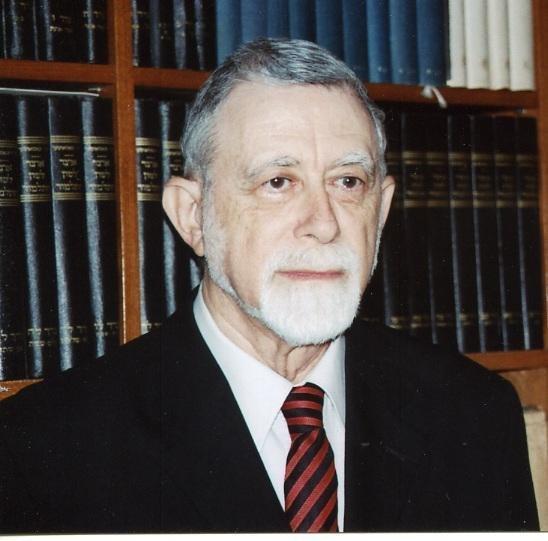 Professor Moshe David Herr 2