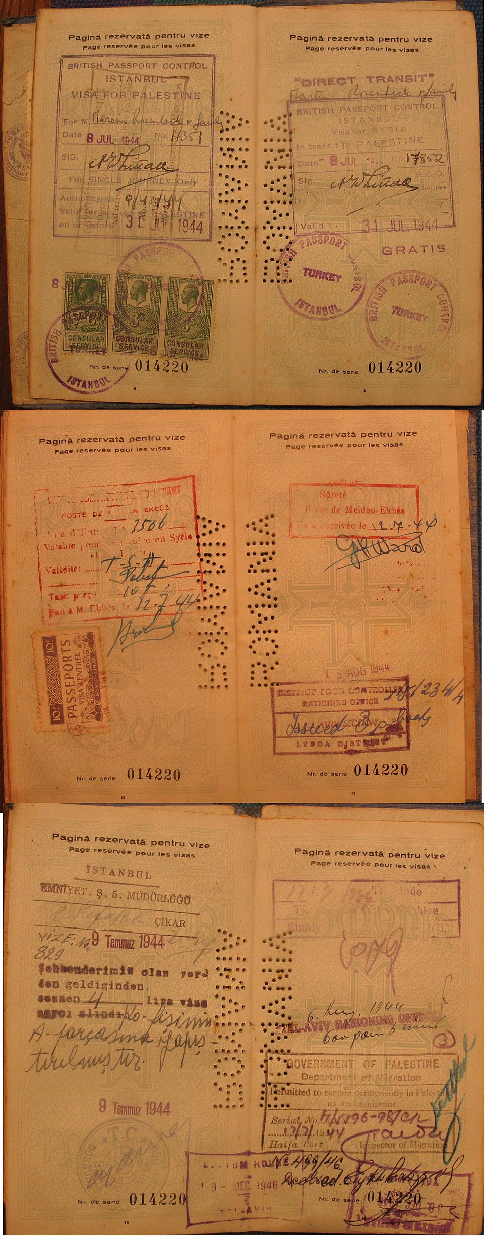 Immigration Kazbek