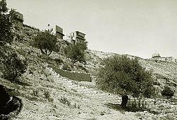 עיר דוד בראשית המאה ה-20