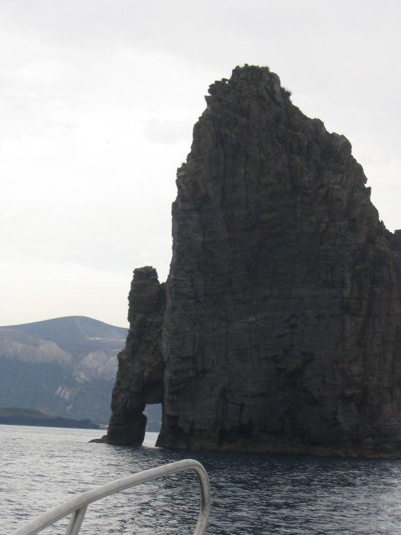 Vulcanic rock, near Lipary, Sicily