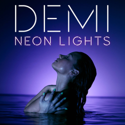 Demi Lovato - Neon Lights (Official single cover).png