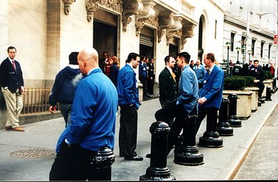 NYSE Traders in smoking break Manhattan NYC.jpg