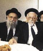 שמואל וינברג (מימין) עם אחיו הרב אריה וינברג