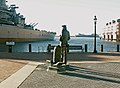 Lone Sailor watching BB-64.jpg