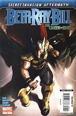 Secret Invasion Aftermath Beta Ray Bill - The Green of Eden Vol 1 1.jpg