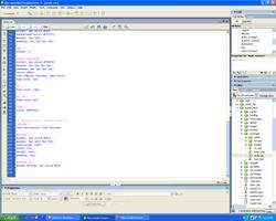 Dreamweaver 8 במערכת ההפעלה Windows XP