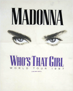 Madonna - Who's That Girl Tour (poster).png