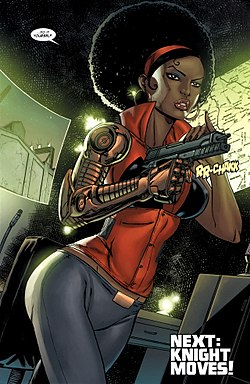 Misty knight from Heroes for Hire Vol 3 7.jpg