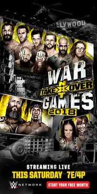 NXT TakeOver WarGames II Poster.jpg