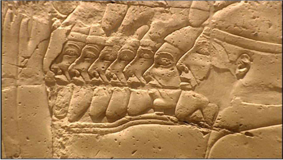Israelites & Judeans captives Shoshenq 1st campaign to Canaan (926-5 BCE)