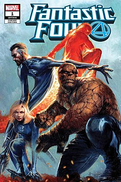 Fantastic Four Vol 6 1 Dell'Otto Exclusive Variant.jpg