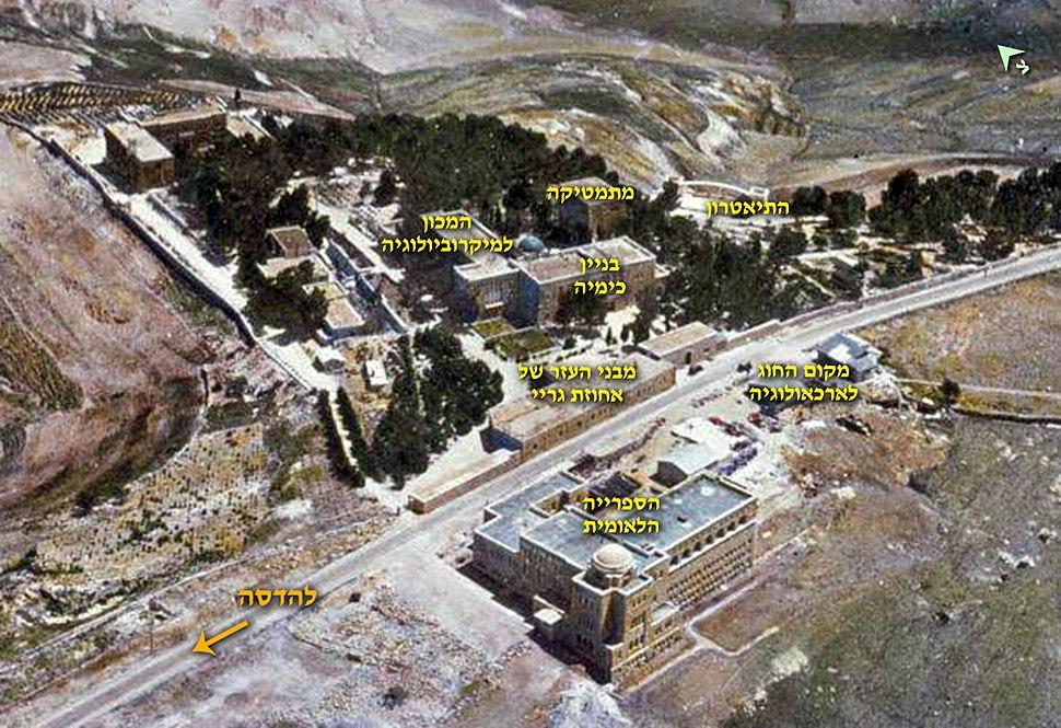 Hebrew University pre 1948