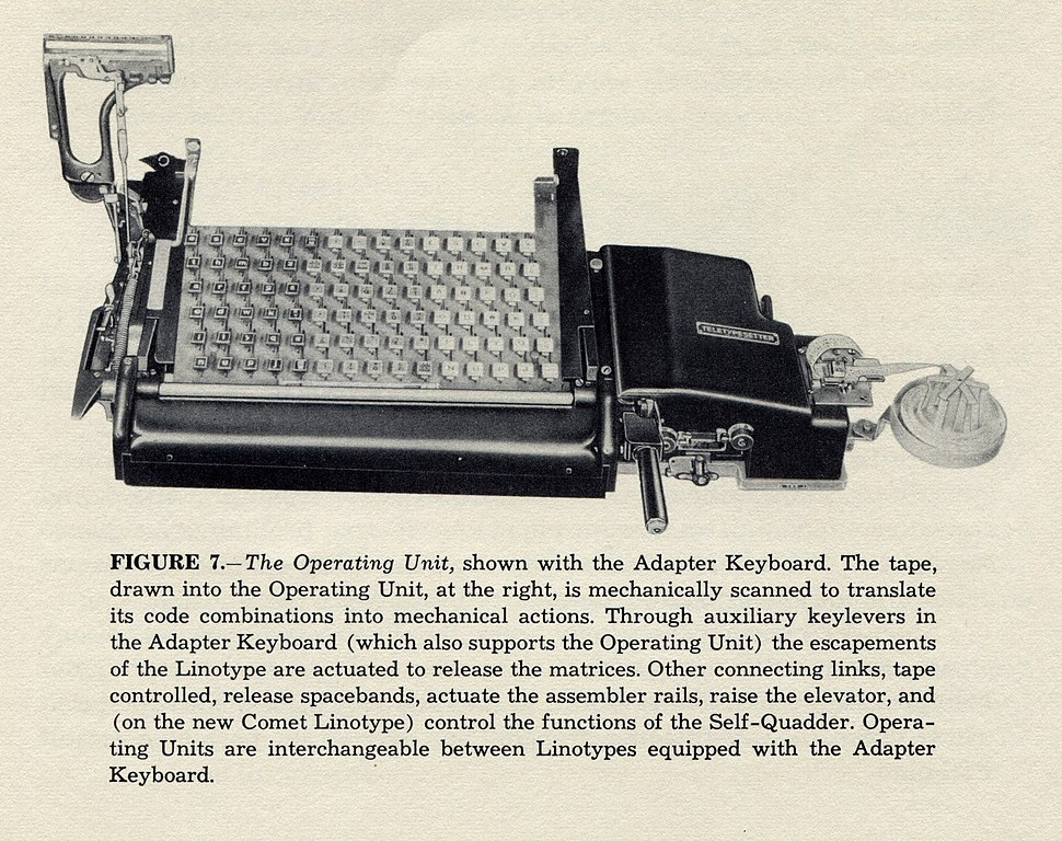 Linotype-handbook-for-teletypesetter-operation-1951-hms-1200rgb-023-operating-unit-2048x