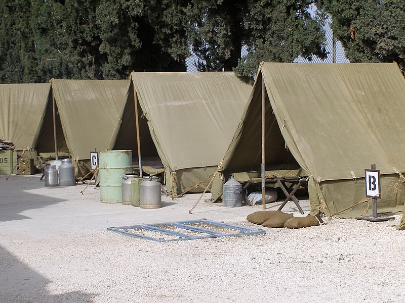 מחנה צבאי