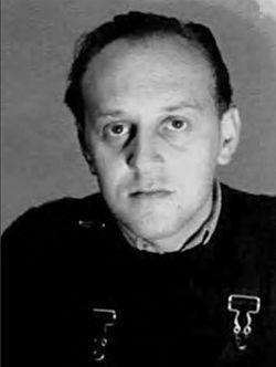 ויקטור בראונר, צילום מ-1935 או 1936,לפני שהאמן איבד את עינו השמאלית