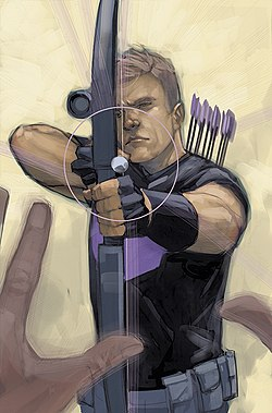 Civil War II Vol 1 3 Hawkeye Variant Textless.jpg