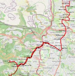 מפת הקו האדום