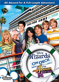 Wizards on deck with hannah montana.jpg