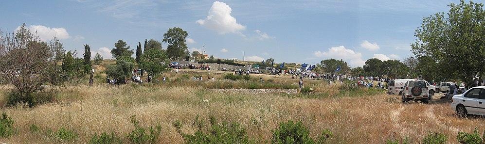 ההתכנסות בחומש ההרוסה ביום העצמאות 2008