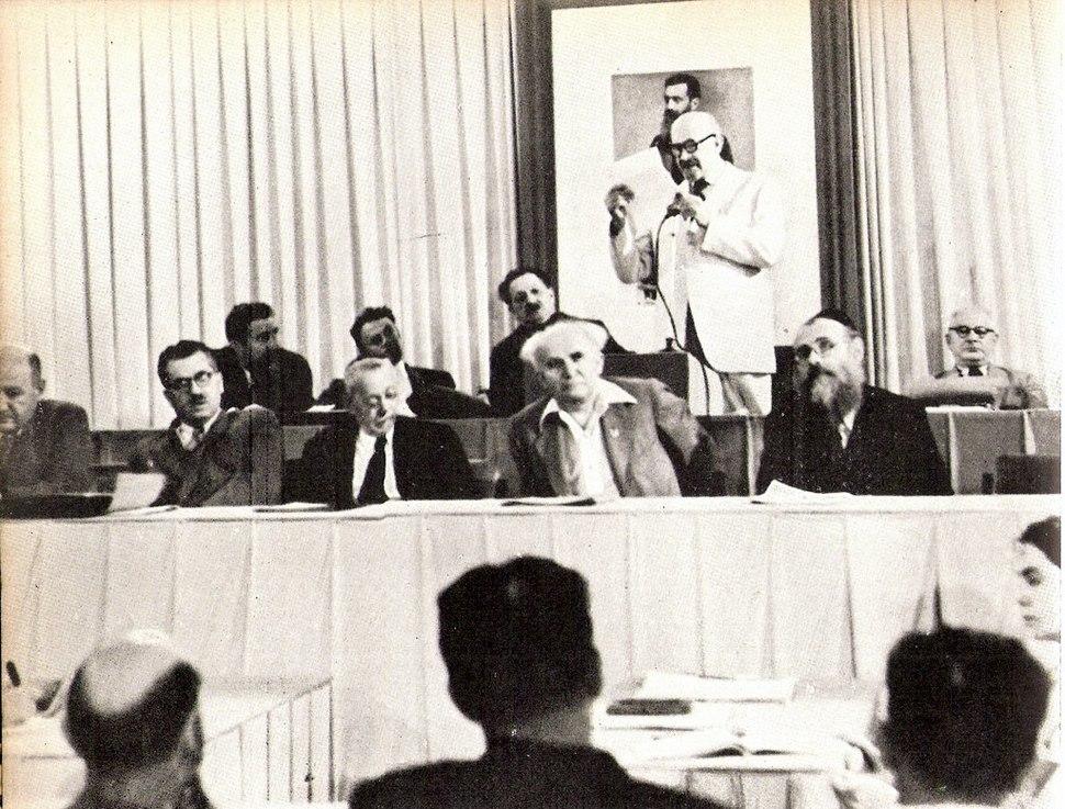 Weizmann at Provisional Council1