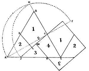"""פתרון חידת מוכר הסדקית מתוך ספרו של דודני """"The Canterbury Puzzles"""""""