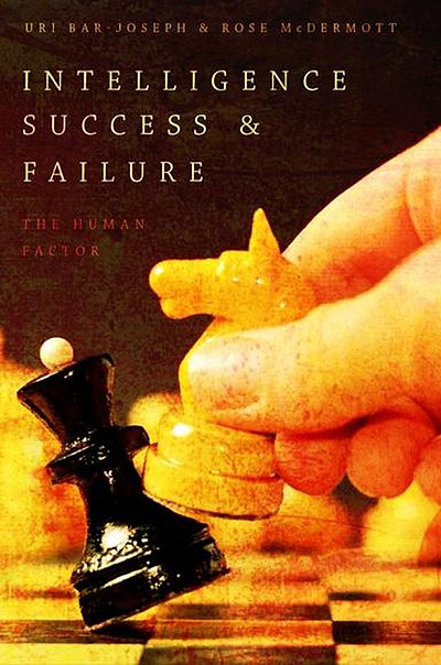 כריכת הספר Intelligence Success and Failure: A comparative Study, 2017