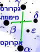 Crux constellation-heb