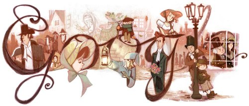 Dickens-2012 Doodle