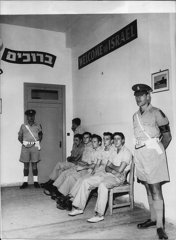 Israel holdes seven britons 9-1949