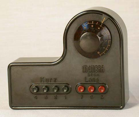 One station radio from the Nazi period
