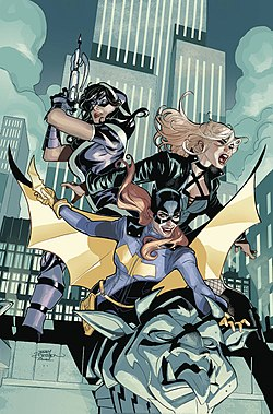 Batgirl and the Birds of Prey Vol 1 22 Textless.jpg