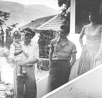 Leonard Bernstein David Shatner Ein Harod 1947