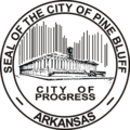 Pine Bluff AR city seal.png